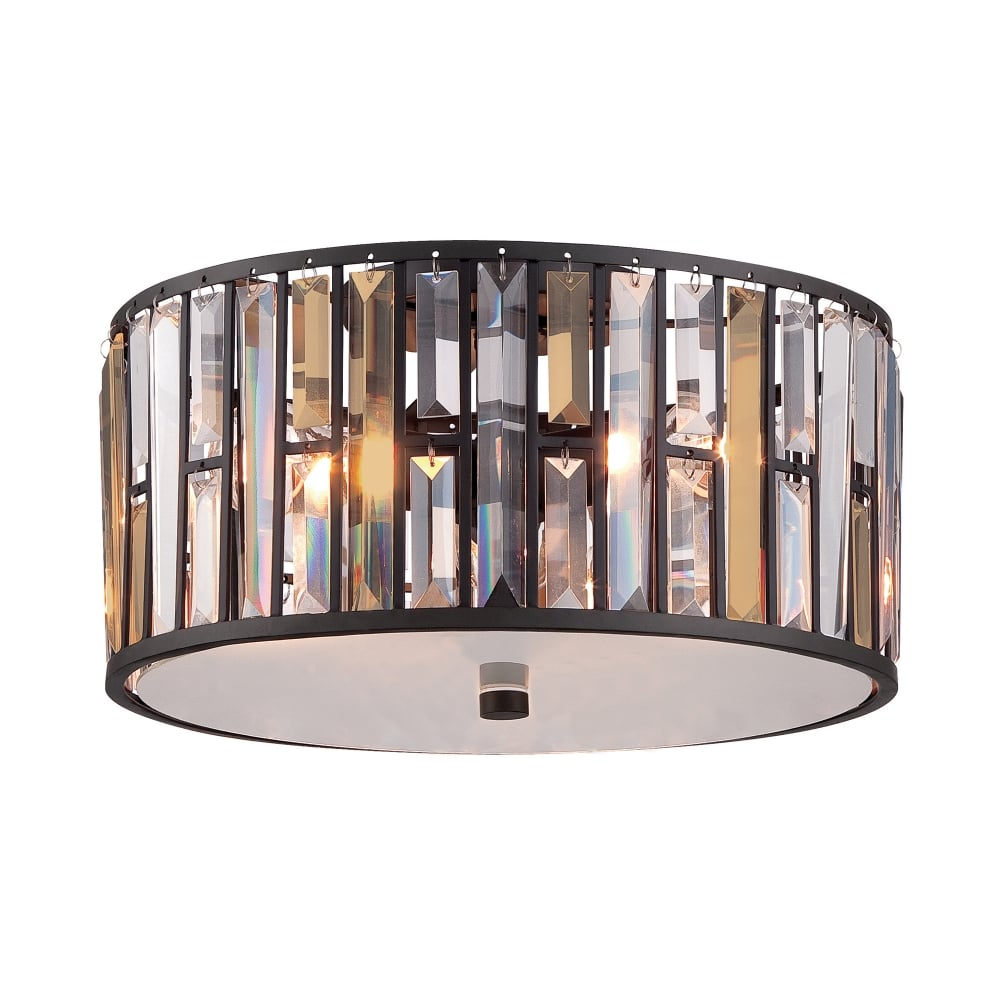 Hinkley lighting gemma flush mount ceiling light in vintage bronze gemma flush mount ceiling light in vintage bronze aloadofball Image collections