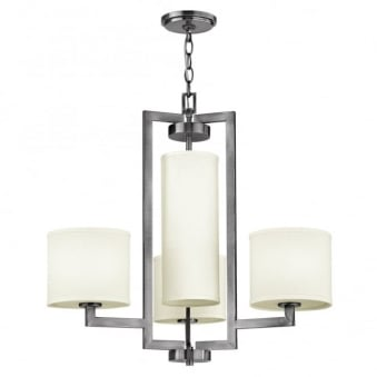 Hampton 4 Light Chandelier in Antique Nickel
