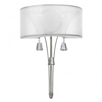 Mime Wall Light in Brushed Nickel