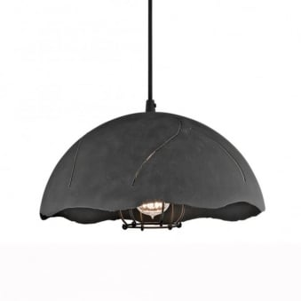 Fracture One Caged Dome Pendant Light
