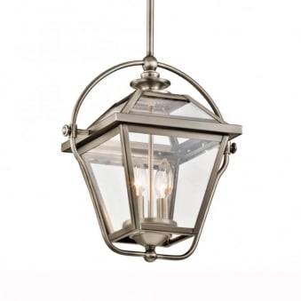 Ryegate Two Light Pendant in Antique Pewter