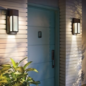 Sorel LED Outdoor Wall Light in Architectural Bronze