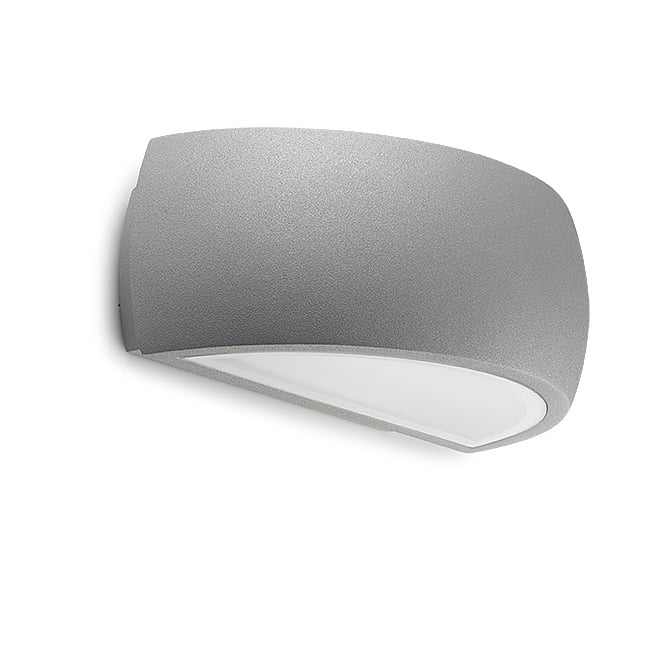 LEDS-C4 Delfos Outdoor Light Finished in grey with Matt Diffuser