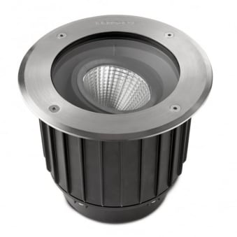 Gea 23w LED Marine Grade Stainless Steel Adjustable Ground Light 3000K IP67