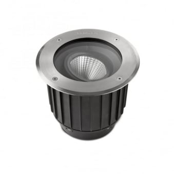 Gea 9w LED Marine Grade Stainless Steel Adjustable Ground Light 3000K IP67
