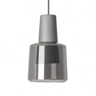 Khoi Surface Mounted 19.5W LED Cement Pendant