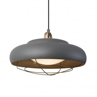 Sugar Surface Mounted 26.6W LED Urban Grey and Golden Pendant