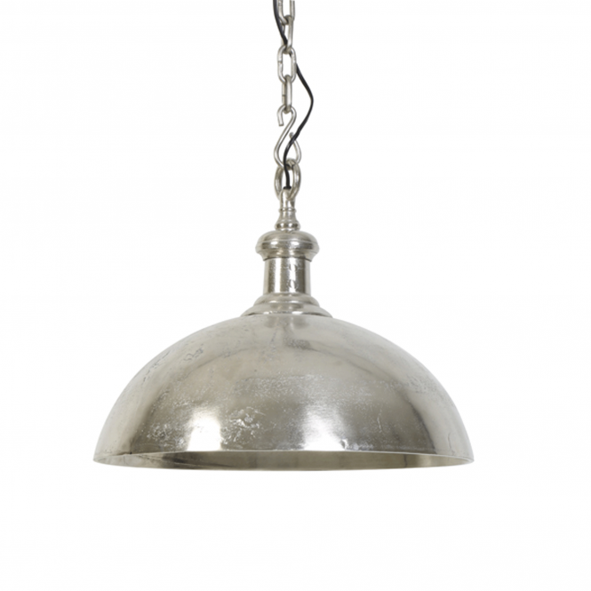Light & Living Adora Large Pendant in a Silver Finish
