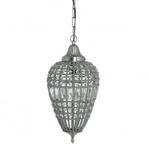 **EX-DISPLAY** Charlene Pendant in Nickel and Crystal