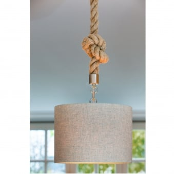 Gilmar Rope Pendant Fitting