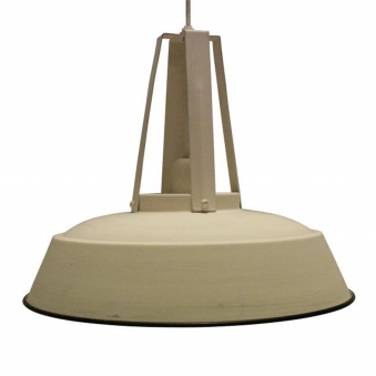 Inez Pendant in a Cream Finish