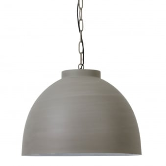 Kylie Extra Large Pendant in Cement Finish