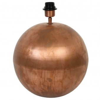 Strado Copper Table Lamp Base