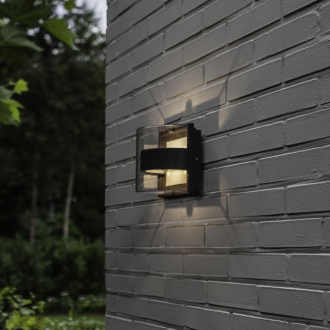 Lutec Delta Decorative 6W Exterior LED Up And Down Wall