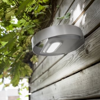 Lord Solar Powered 1W LED 100 Lumen Exeterior Wall Light