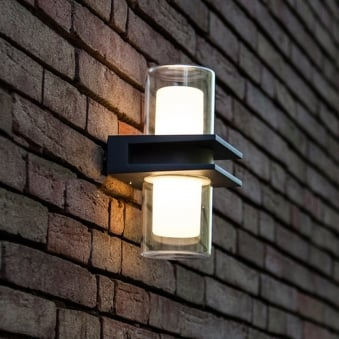 Mito Up and Down LED IP54 Outdoor Wall Light
