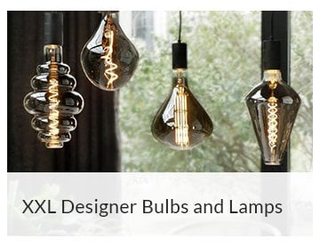 XXL Designer Bulbs and Lamps