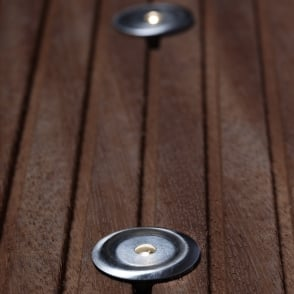 Paros 4-Kit Stainless LED Exterior Floor Lights