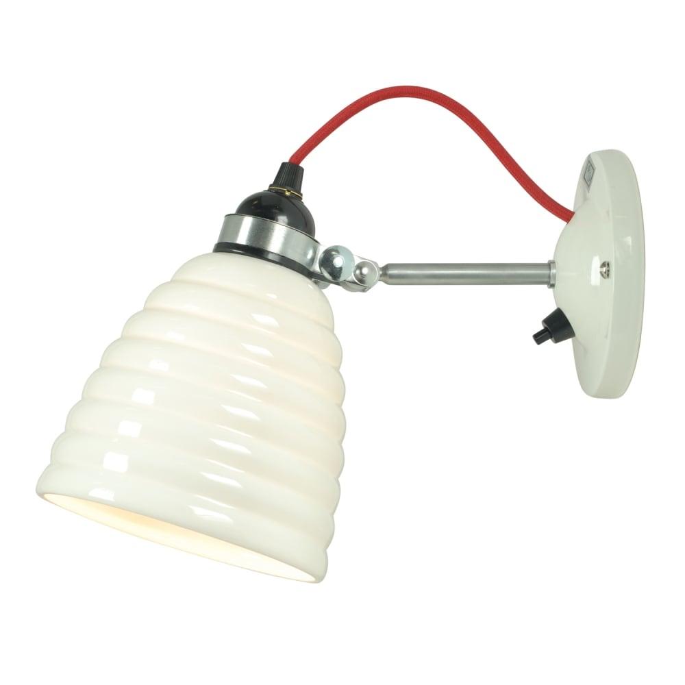 Original btc hector bibendum switched wall light with red cable hector bibendum switched wall light with red cable aloadofball Gallery