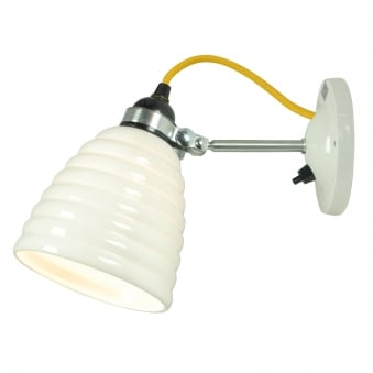 Hector Bibendum Switched Wall Light with Yellow Cable