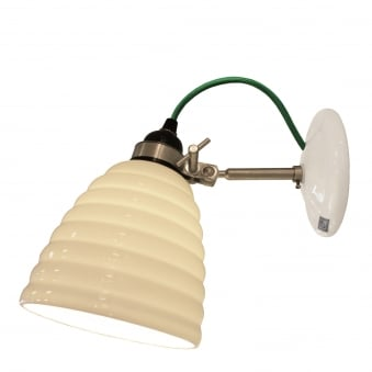 Hector Bibendum Wall Light with Green Cable