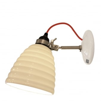 Hector Bibendum Wall Light with Red Cable