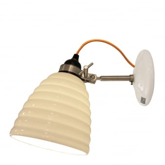 Hector Bibendum Wall Light with Yellow Cable