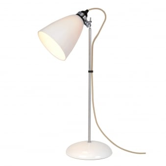 Hector Large Dome Table Light in Natural White