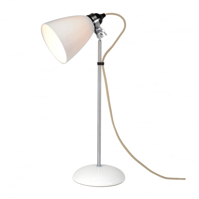 Original BTC Hector Medium Dome Table Light in Natural White