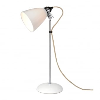 Hector Medium Dome Table Light in Natural White