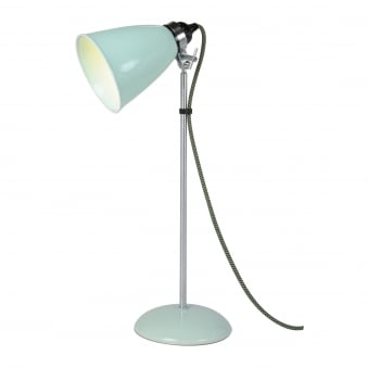 Hector Medium Dome Table Light in Pale Green