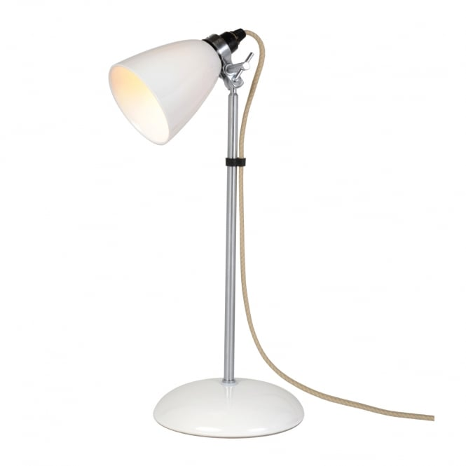 Original BTC Hector Small Dome Table Light in Natural White