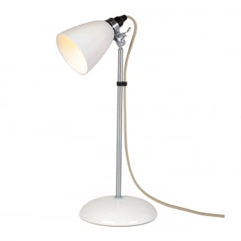 Hector Small Dome Table Light in Natural White