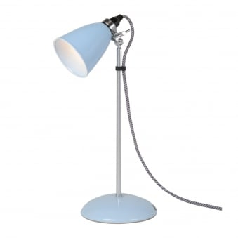Hector Small Dome Table Light in Pale Blue