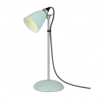 Hector Small Dome Table Light in Pale Green