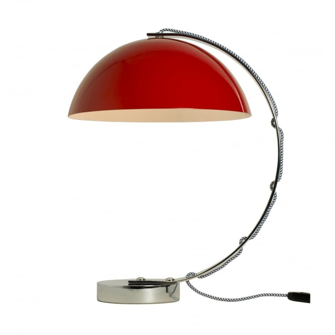 Original BTC London Table Light in Red