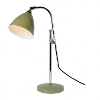 Task Table Light in Olive Green