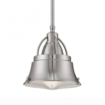 Elstead Cody Mini Pendant in Brushed Nickel