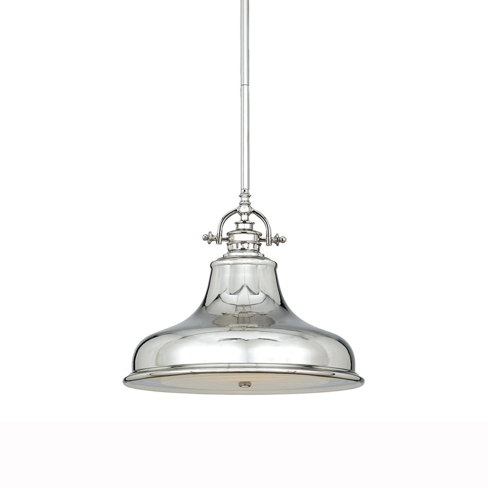 quoizel emery pendant in imperial silver fitting type from dusk