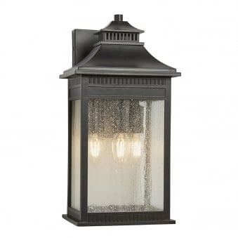 Livingston Large Coastal Wall Lantern in Imperial Bronze