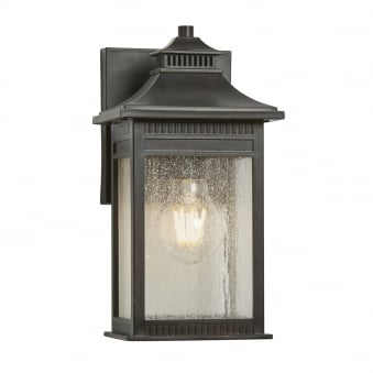 Livingston Small Coastal Wall Lantern in Imperial Bronze