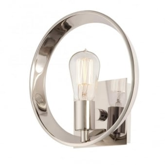 Theater Row Wall Light in Imperial Silver