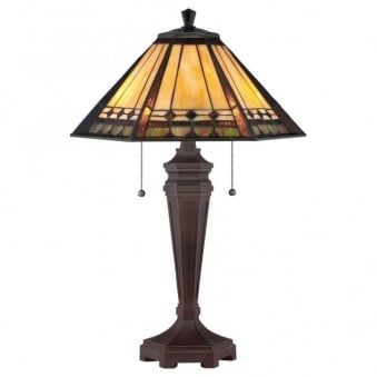Tiffany Arden Table Lamp in Bronze Patina