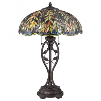 Tiffany Belle Table Lamp in Imperial Bronze