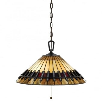 Tiffany Chastain Pendant Light in Vintage Bronze