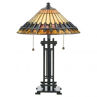 Tiffany Chastain Table Lamp in Vintage Bronze
