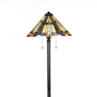 Tiffany Inglenook Floor Lamp