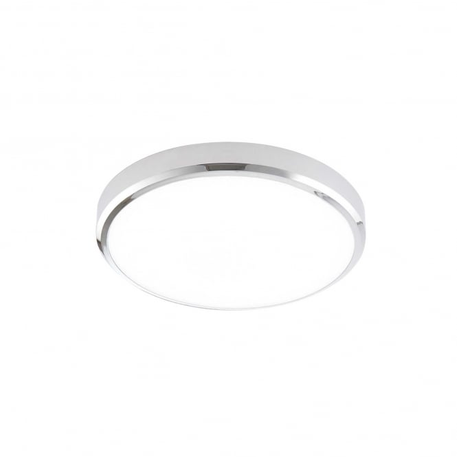 Saxby 70450 Cobra XS Round LED Cool White Bathroom Light in Chrome