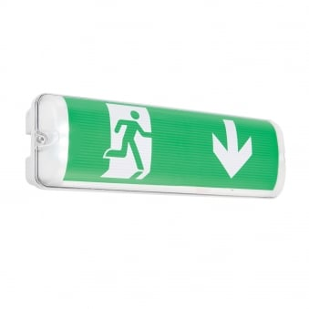 Sight Plus EM IP65 2W Maintained Emergency Exit Signage