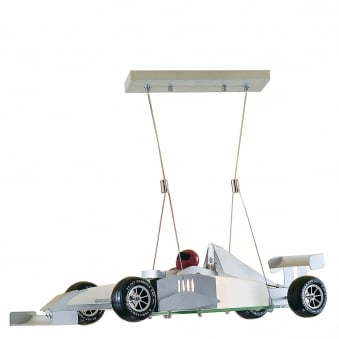 F1 Racing Car Pendant Light Fitting